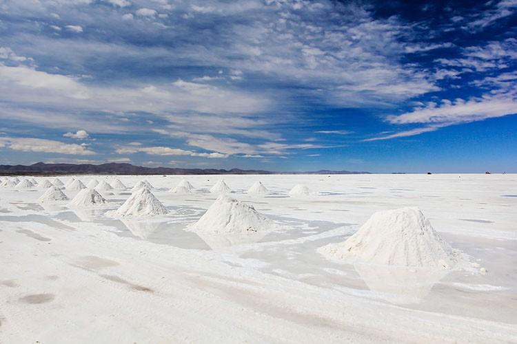 Salt Piles - Salar de Uyuni - Bolivia Salt Flats Tour - Wanderlusters
