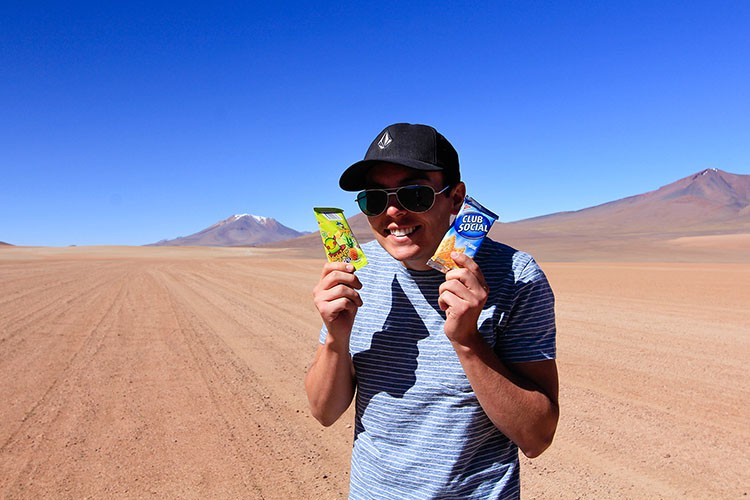 Snacks on Bolivia Salt Flats Tour - Wanderlusters