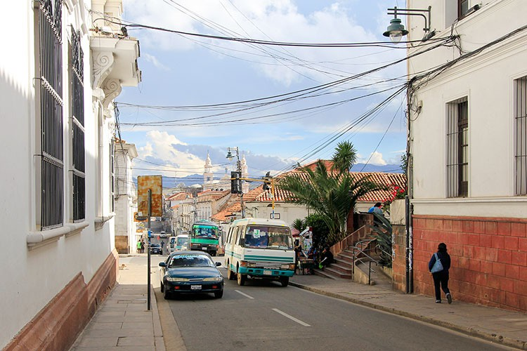 Sucre Streets of White - Bolivia - Wanderlusters