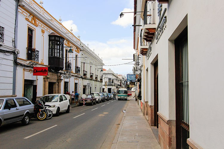 Sucre White Streets Bolivia - Wanderlusters