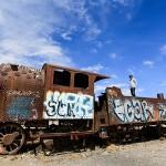Train Cemetery - Uyuni Bolivia - Wanderlusters