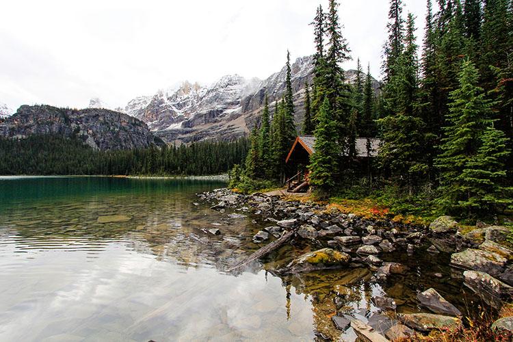 Cabins at Lake OHara - BC Canada - Wanderlusters