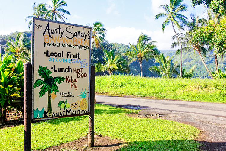 Aunt Sandys Banana Bread - Road to Hana - Maui Hawaii - Wanderlusters (750x500)