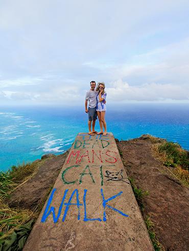 Dead Mans Catwalk - Oahu Hawaii - Wanderlusters (3x4)
