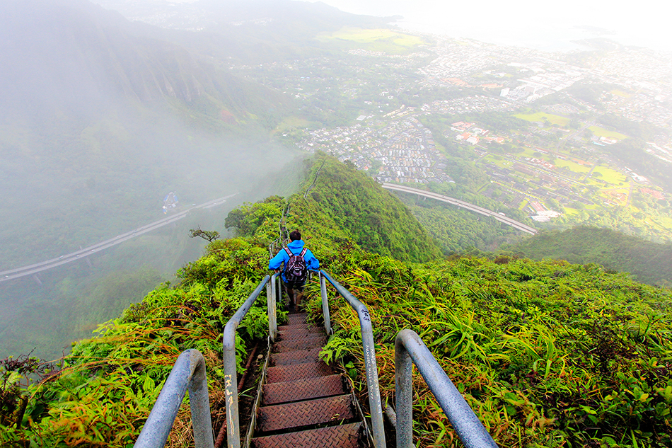 Stairway To Heaven: Haiku Stairs