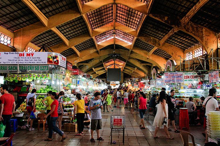 Ben Thanh Market - Ho Chi Minh City Saigon Vietnam - Wanderlusters