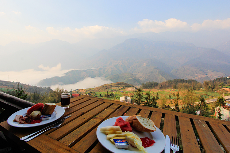 Breakfast in Sapa with A View - Vietnam - Wanderlusters