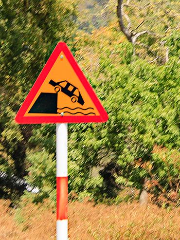 Dalat High Pass Signs - Vietnam Easy Riders Tour - Wanderlusters (3x4)