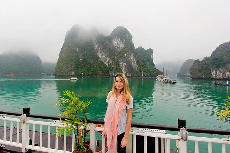 Halong Bay Aboard a Boat - Vietnam - Wanderlusters