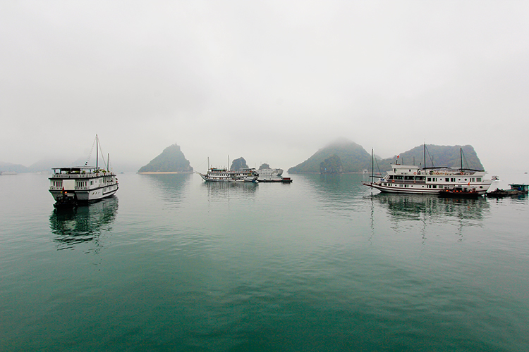 Halong Bay in Spring - Vietnam - Wanderlusters