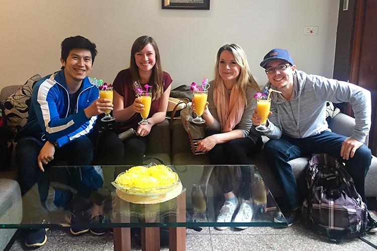 Hanoi Elegance Ruby Welcome Drinks - Vietnam - Wanderlusters