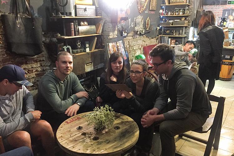 Hanoi Leather Cafe - Vietnam - Wanderlusters