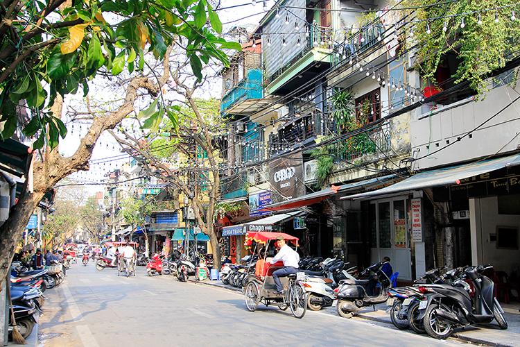 Hanoi Streets in Vietnam - Wanderlusters