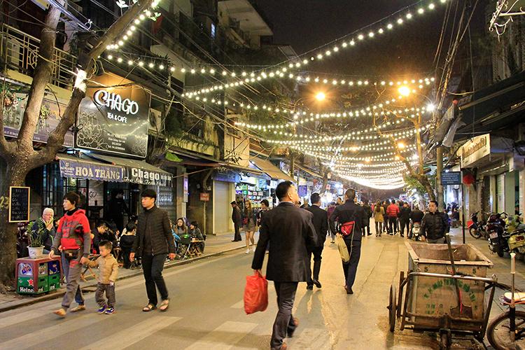 Hanoi at Night - Vietnam - Wanderlusters