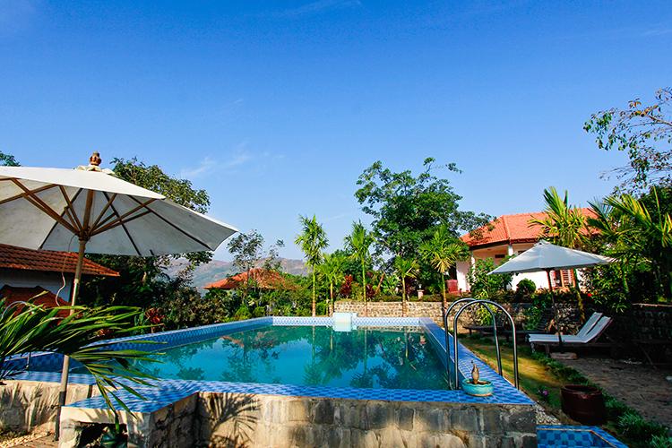 Juliets Villa Pool - Vietnam Easy Rider Tour - Wanderlusters (750)