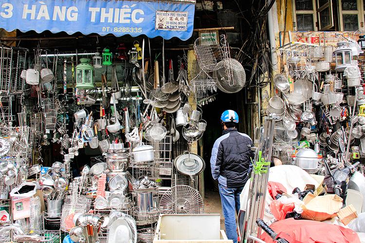 Metal Street Hanoi - Vietnam - Wanderlusters