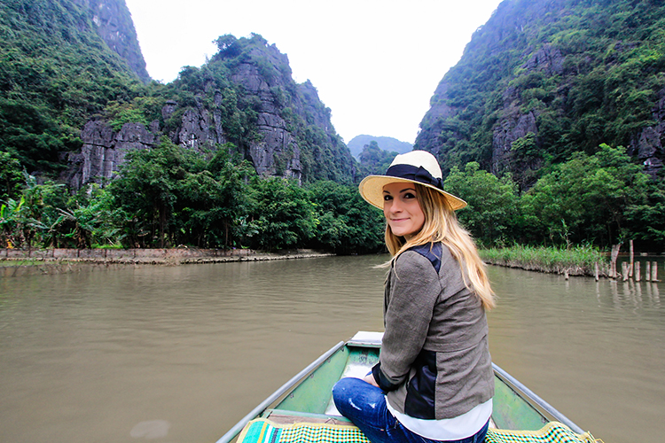 Ninh Binh Raft Floating - Vietnam - Wanderlusters
