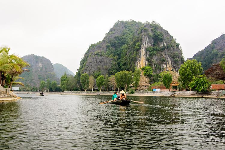 Ninh Binh Rafting - Vietnam - Wanderlusters