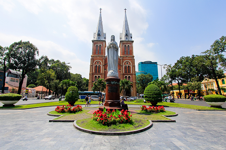 Notre Dame Cathedral Basilica of Saigon - Vietnam - Wanderlusters