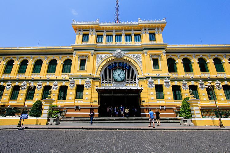 Post Office Ho Chi Minh City - Saigon Vietnam - Wanderlusters