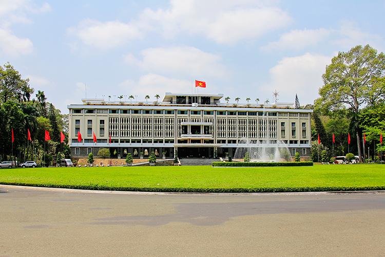 Reuinification Palace - Saigon Ho Chi Minh City Vietnam - Wanderlusters
