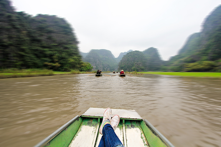 Tam Coc Rafting - Ninh Binh Vietnam - Wanderlusters