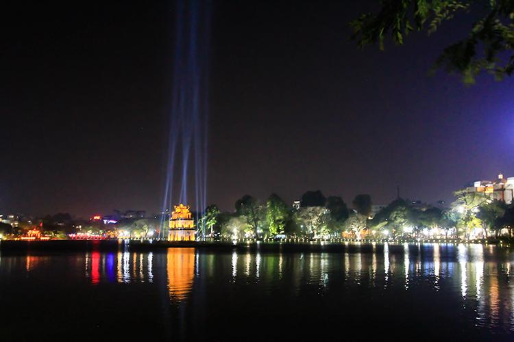 Tortoise Tower Hanoi Vietnam - Wanderlusters