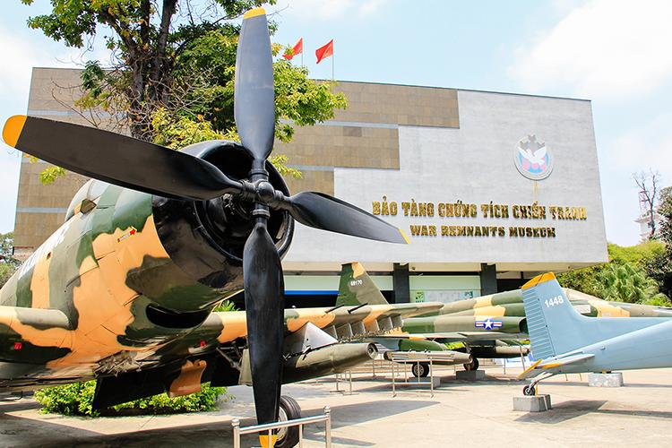 War Remnants Museum - Saigon Ho Chi Minh City Vietnam - Wanderlusters