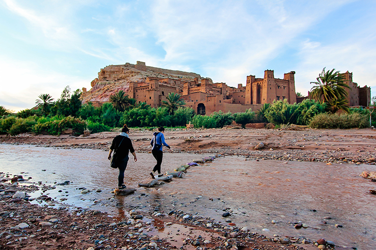 Ait Benhaddou River Crossing - Morocco - Wanderlusters