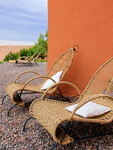 Arabian Chairs in Ait Bendahout - Morocco