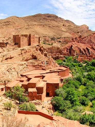 Atlas Mountain Towns in Morocco (3x4)