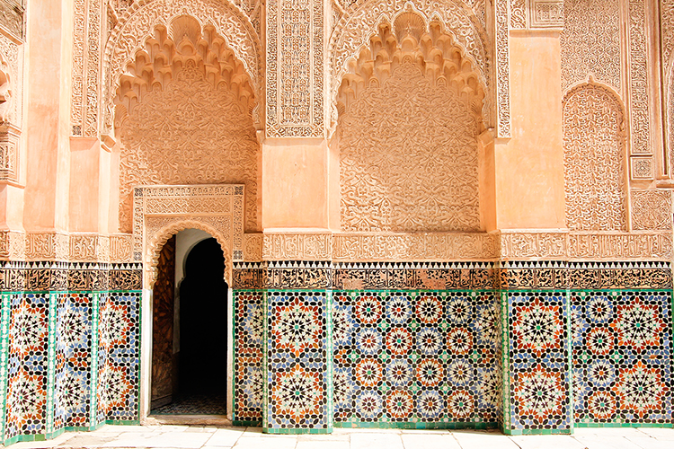 Ben Youssef School Colors - Marrakesh Morocco - Wanderlusters