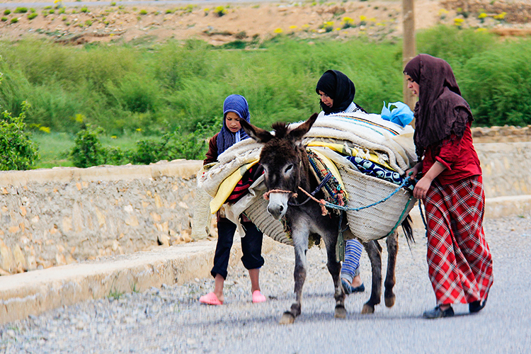 Berber Mountain People - Dades Gorge Morocco - Wanderlusters
