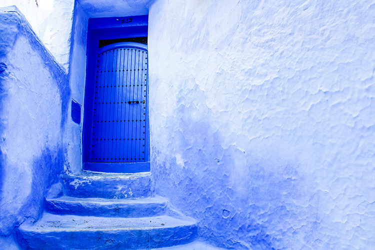 Blue Doors Chefchaouen 4 - Morocco - Wanderlusters