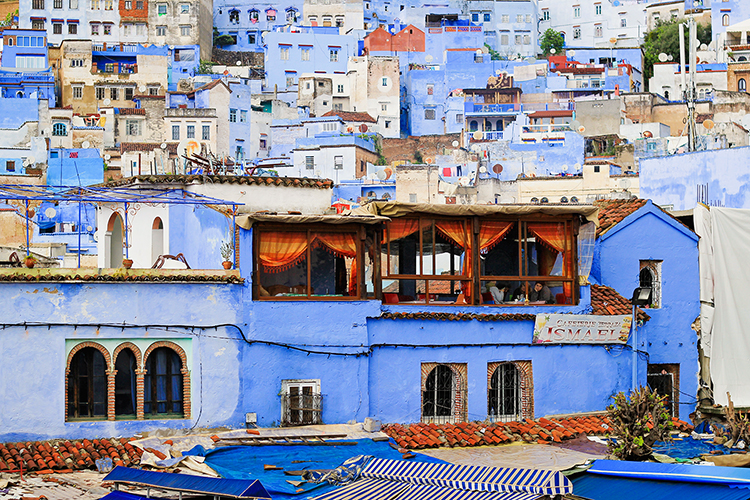 Blue of Chefchaouen - Morocco - Wanderlusters