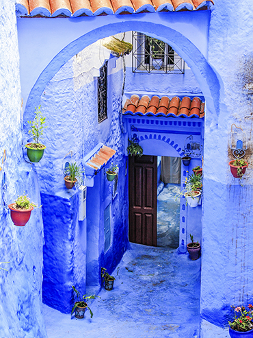 Chefchaouen Blue Streets 2 - Morocco - Wanderlusters