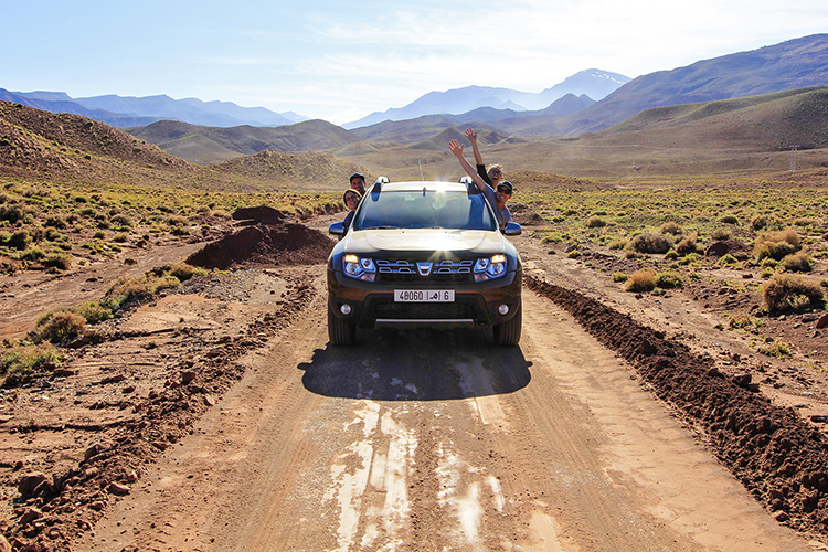 Road Trippin' in Morocco
