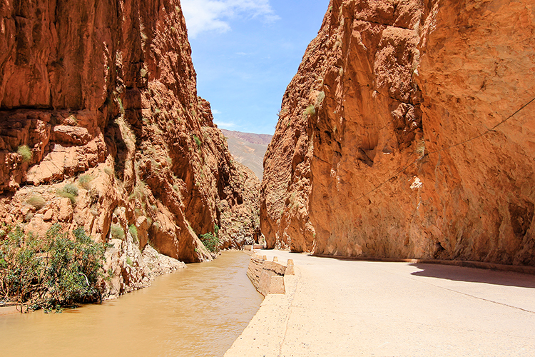 Dades Gorge Cliff Walls - Morocco - Wanderlusters