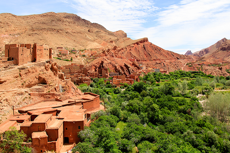 Dades Gorge Town - Morocco - Wanderlusters