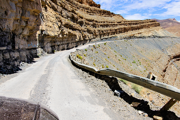 Deadly Road in Morocco - Dades to Todra Gorge - Wanderlusters
