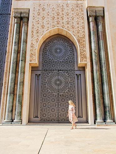 Hassan II Mosque Doors - Casablanca Morocco - Wanderlusters