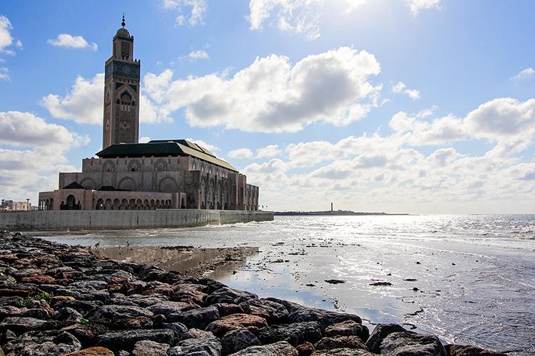 Hassan II Mosque Promontory - Casablanca Morocco - Wanderlusters