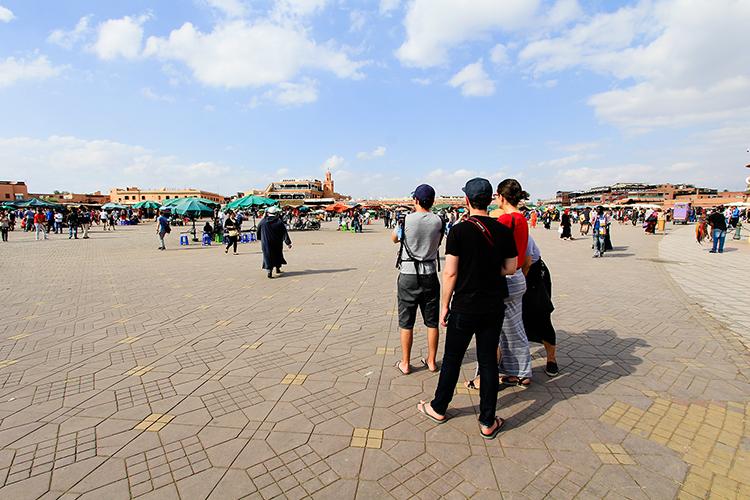 Jemina el Fina Square in Marrakesh - Morocco - Wanderlusters