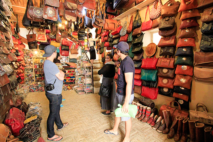 Leather Goods Store in Fes - Morocco - Wanderlusters