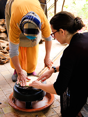 Maison Arabe Cooking Class Making Bread - Marrakesh Morocco - Wanderlusters (3x4)