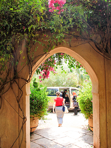 Maison Arabe Entryway - Marrakesh Morocco - Wanderlusters (3x4)