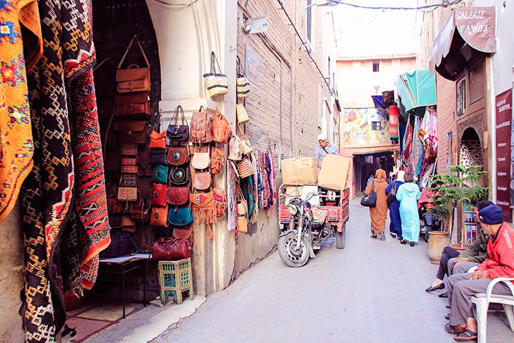 Marrakech Medina Souks - Morocco - Wanderlusters