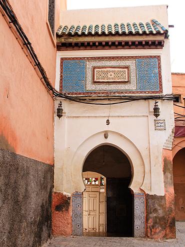 Marrakesh Archways - Morocco - Wanderlusters (3x4)