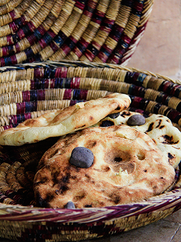 Moroccan Pebble Bread - Marrakesh - Wanderlusters (3x4)