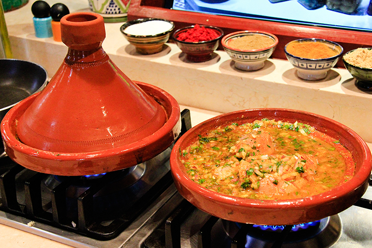 Moroccan Tagine - Maison Arabe Marrakesh - Wanderlusters